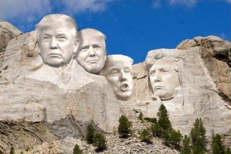 網友將美國總統山的總統像全換成總統川普.jpg
