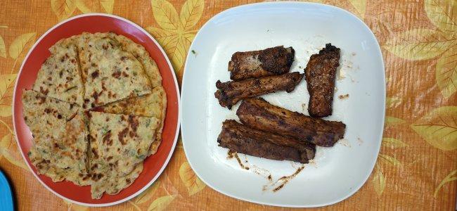 pancake and pork rib.jpg